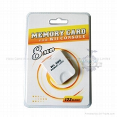 Wii Memory Card-Wii Acce