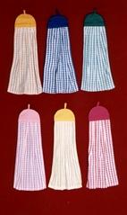 吊巾, 茶巾