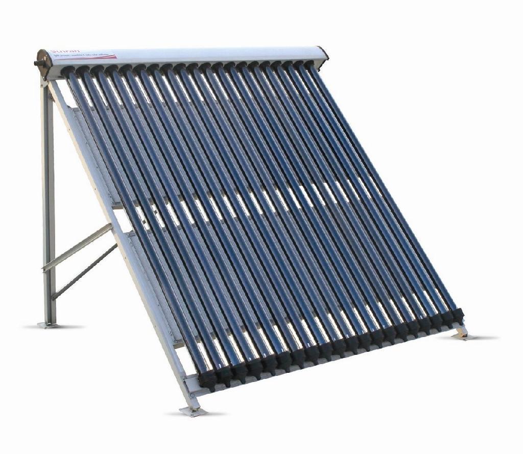 U pipe solar collector tz sunrain oem china for Diy solar collector