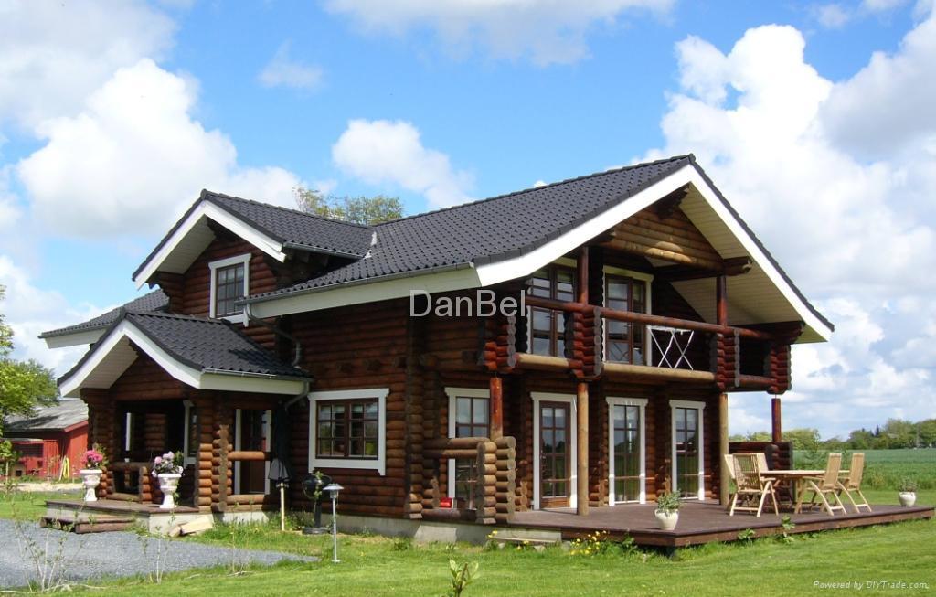 Wooden House O 270 Belarus Manufacturer Prefabricated Building