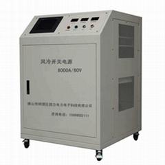 4000A24V铝镁钛硬质氧化脉冲叠加电源,阳极氧化电源