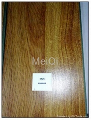sell smooth surface MeiQi laminate floor