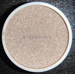 Silver-coated copper powder