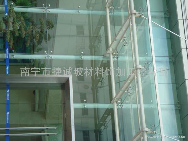 幕牆玻璃 2