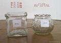 glass Candle jars 1