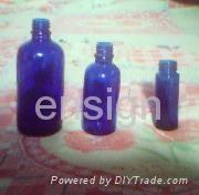 Sell coloured glass bottles 1