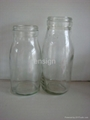 Milk and feeding  glass bottles 2