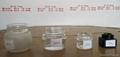 Cosmetics and cream glass jars 2