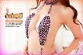 6003-3新款豹纹三点装 连体性感内衣 性感豹纹三点装  5