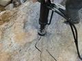 青石開採岩石劈裂機