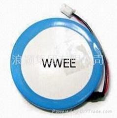 RFID/ZigBee系统钮扣电池