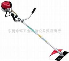 供應本田GX35肩挂式汽油剪草機