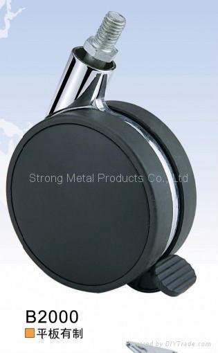 80mm (3寸)塑料家具脚轮    (合金)  2