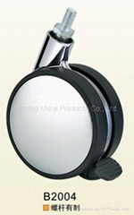80mm Plastic Furniture Castor (B2004)   (ABS)