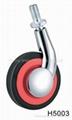 60mm (2.5寸)  单边金属家具脚轮   (合金) 4