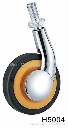 60mm (2.5寸)  单边金属家具脚轮   (合金) 5