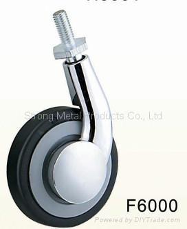 50mm (2寸)  单边金属家具脚轮   (合金) 2