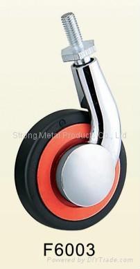 50mm (2寸)  单边金属家具脚轮   (合金) 4