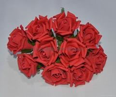 Foam rose bouquets