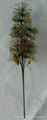 Gliter pine branch