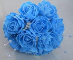 Foam flower bouquets
