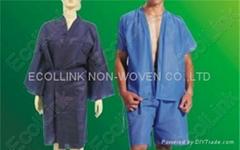 Disposable Non-woven Robe