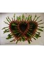 lucky bamboo heart shape 3