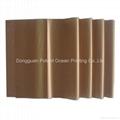 golden color tissue paper