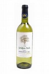 法国金像树贝杰哈克干白葡萄酒