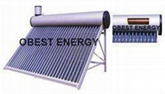 Copper Coil Pressure Solar Water Heater / Thermosiphon Solar Water Heater