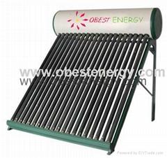 Evacuated Solar Vacuum Tube Solar Water Heaters