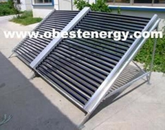 Horizontal Swimming Pool All Glass Solar Collectors