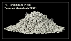 Desiccant Masterbatch for PP and PE.