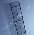 Polycarbonate X-profile Triple-wall
