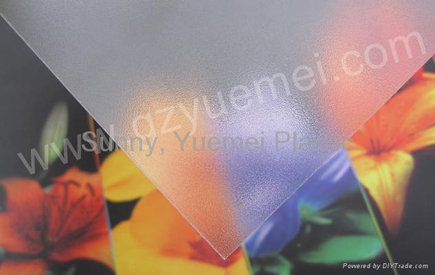 Polycarbonate Abrasive Sheet 1