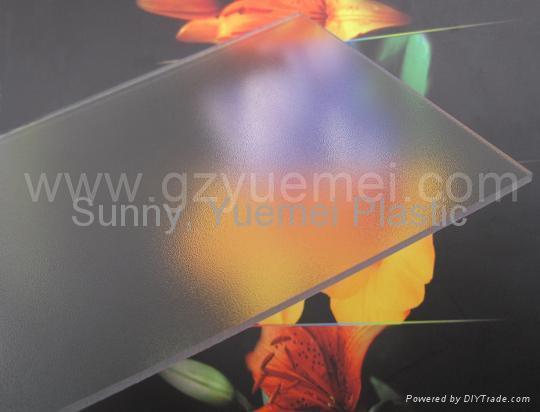 Polycarbonate Abrasive Sheet 3