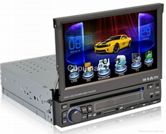 7 inch One Din Car DVD player with 3D animation software