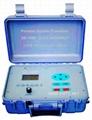 Portable Doppler Ultrasonic Flow Meter