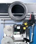 德国韦伯weber汽车轮胎全自动贴标机