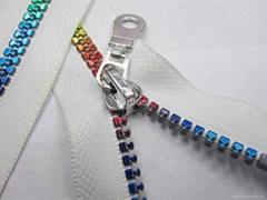resin zipper