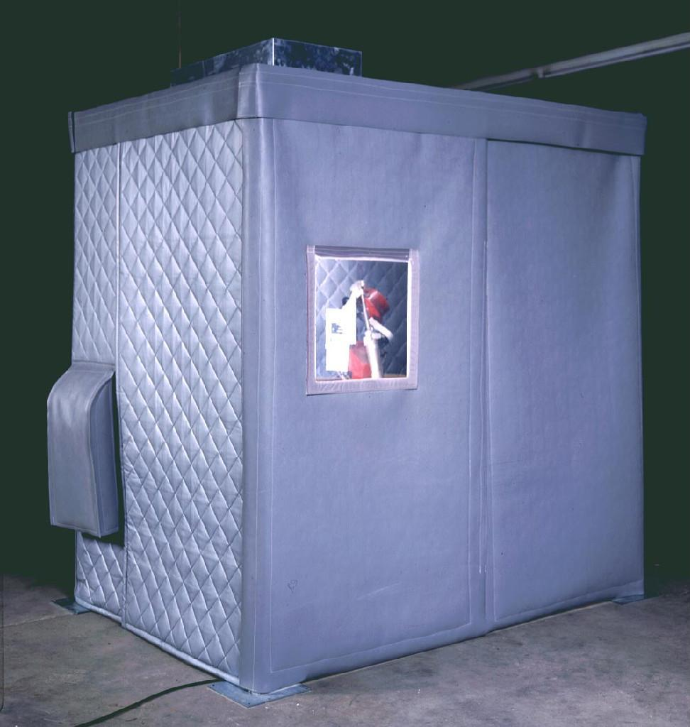 Industrial Curtain Enclosures : Soundproofing curtains blinds