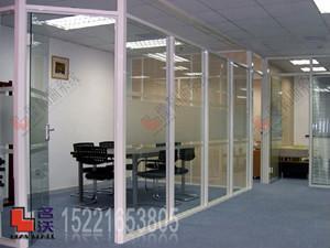 上海单层玻璃隔断隔间墙 1