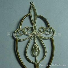 深圳广艺珠宝设计制版-珠宝银版-欧美款耳环&吊坠