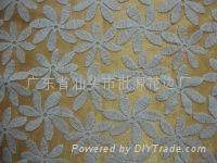 網布刺繡花邊