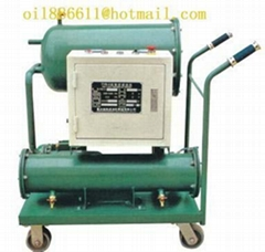 Dehydration oil purifier, diesel oil filtration