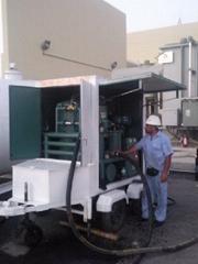 Vacuum transformer oil purifiers, oil treatment