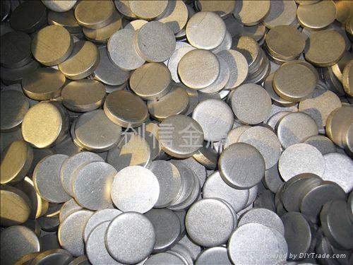 dia25*5mm titanium disc manufacture 3
