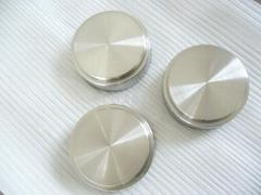dia100*40mm machined sputtering coating titanium target