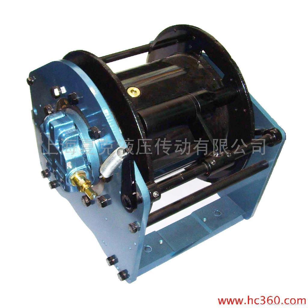 该系列液压绞车采用模块化设计图片