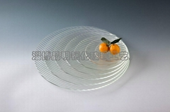 Tempered glass tableware: Ultrawhite ChangHong Series